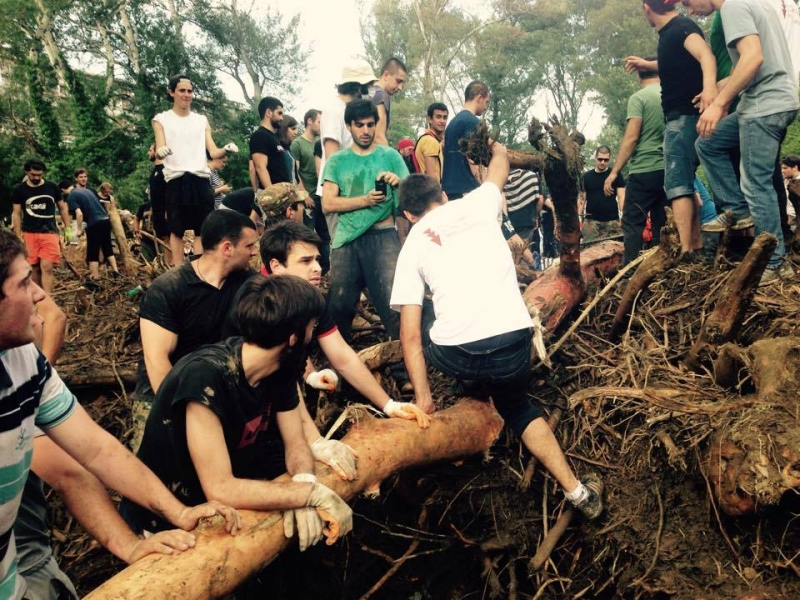 EEU volunteers for Tbilisi recovery after flood