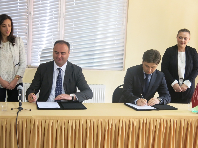 Memorandum between EEU and the Ministry of Corrections of Georgia