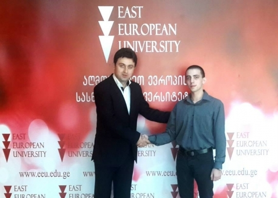 The First student of the EEU in the LSBF!