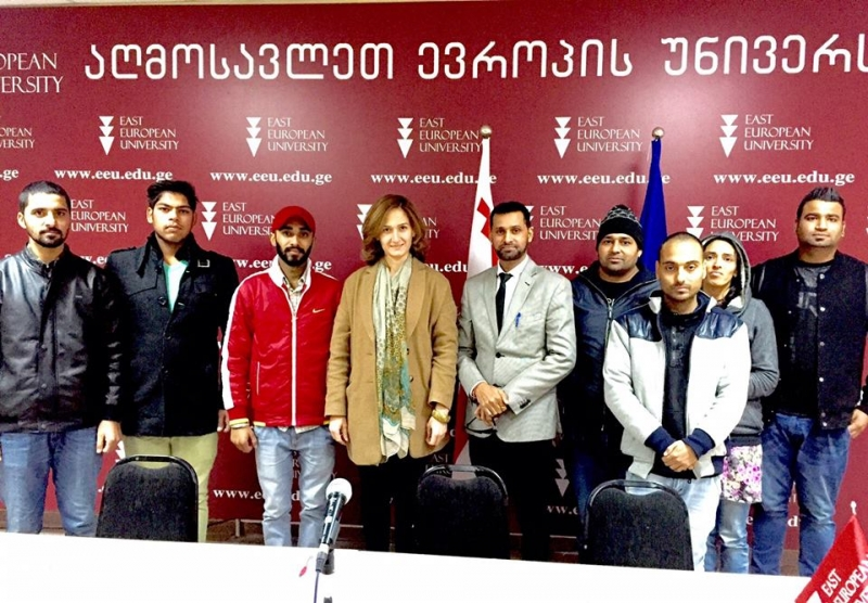 EEU welcomes foreign students in the EEU Training Center