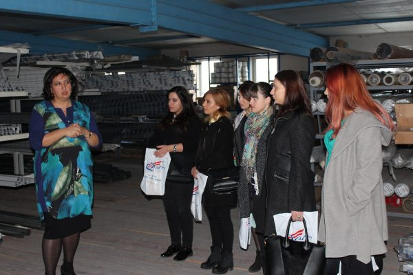 "Company ,,DIO"" Hosts EEU HRM Students"