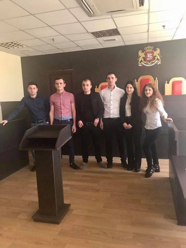 EEU team won at the final stage of national competition of simulated processes in criminal law!