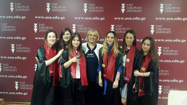 First Graduates of the Master Program in Human Resources (HR) at EEU!