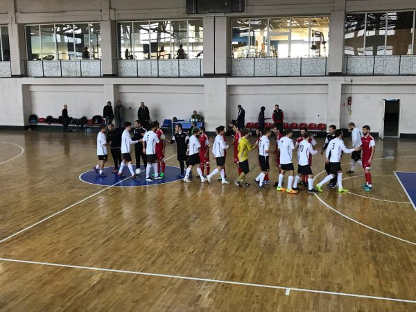 FUTSAL PLAY between EEU and ''Sport's University ended in draw!