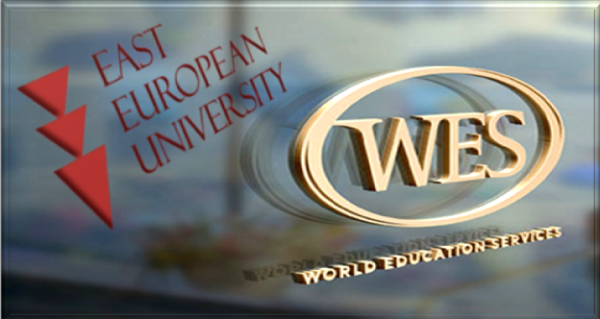 East European University is a member of the U.S. World Education Services (WES) Organization!