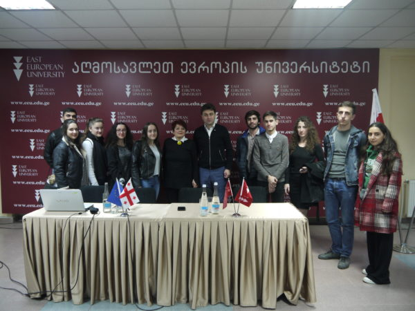 "Public Lecture of Professor Eliko Tsiklauri-Lammich, ""Transitional Countries and Law''"