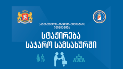 Internship in public institutions for EEU students