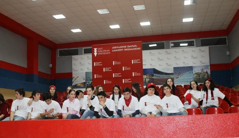 აბიტურიენტები აღმოსავლეთ ევროპის უნივერსიტეტში