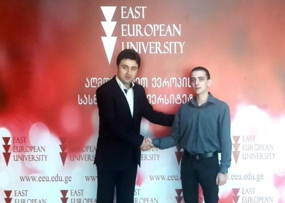 EEU-ს პირველი სტუდენტი ლონდონის ბიზნესისა და ფინანსების სკოლაში!