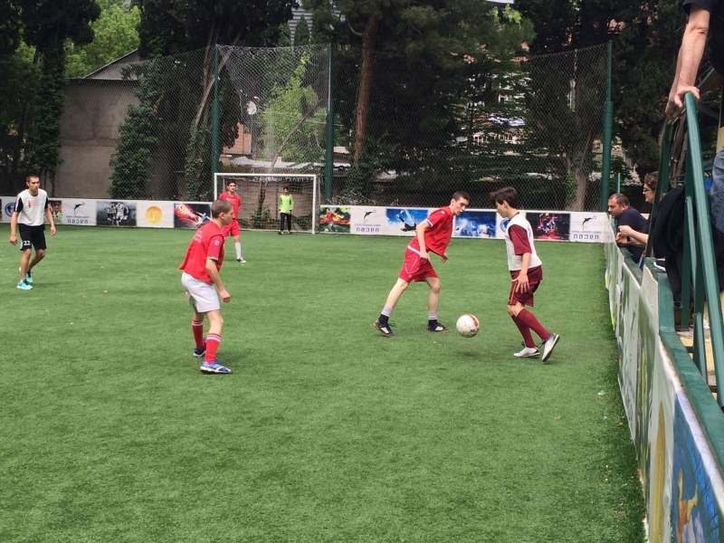 EEU- School tournament in mini-Football