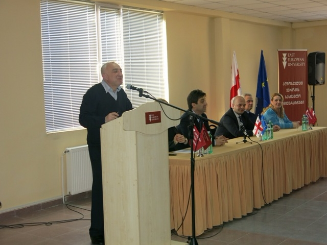 The presentation of the program in Business Administration