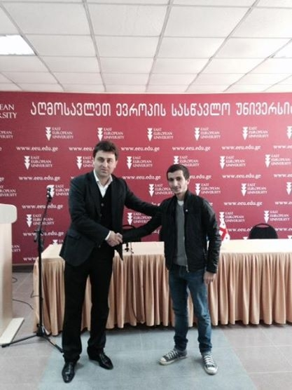 One more student of EEU continues his education in the UK