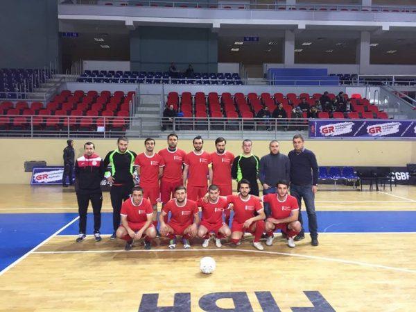 EEU Futsal teams Successful match in quarterfinal!
