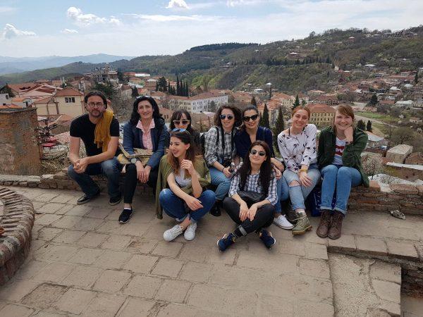 Exchange program student of Erasmus + Hanna Neulinger and Her invited guest Jan Boehm's Tour in Kakheti!