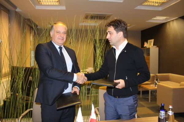 MOU was Signed between East European University and National Execution Bureau!