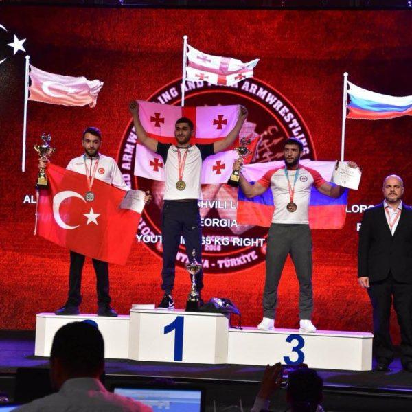 აღმოსავლეთ ევროპის უნივერსიტეტის  სტუდენტი ლევან საკაშვილი მსოფლიო ჩემპიონია!