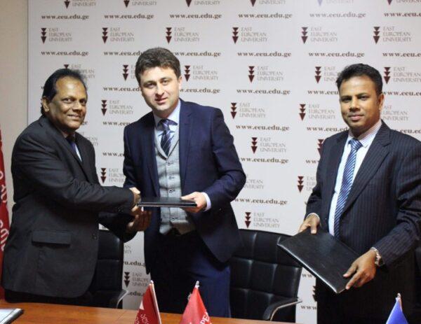 "The East European University is a partner of the  ""Horizon Campus"" of Sri Lanka"
