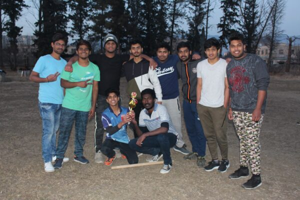 Winter Cricket for EEU International Students