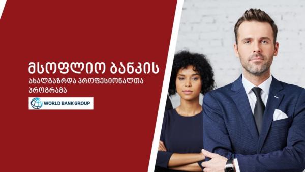 მსოფლიო ბანკის ახალგაზრდა პროფესიონალთა პროგრამა