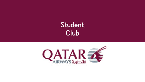 """Student Club"" – Qatar Airways special offer for Students"