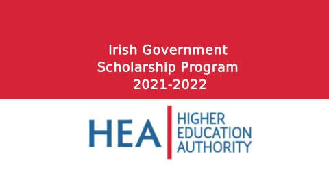 Irish Government Scholarship Program 2021-2022