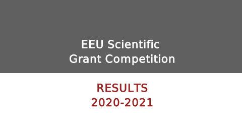 Winning projects announced in the scientific grant competition by the East European University for 2020-2021 Academic Year