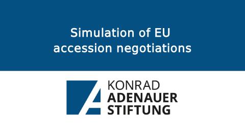 Simulation of EU accession negotiations