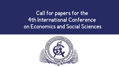 Call for papers for the 4th International Conference on Economics and Social Sciences
