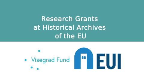 Joint Research Grants of the International Visegrad Fund and the European University Institute (EUI) at Historical Archives of the EU
