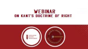 Webinar on Kant's Doctrine of Right