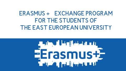 ERASMUS + EXCHANGE PROGRAM FOR THE STUDENTS OF THE EAST EUROPEAN UNIVERSITY TO THE BUCHAREST UNIVERSITY OF ECONOMIC STUDIES