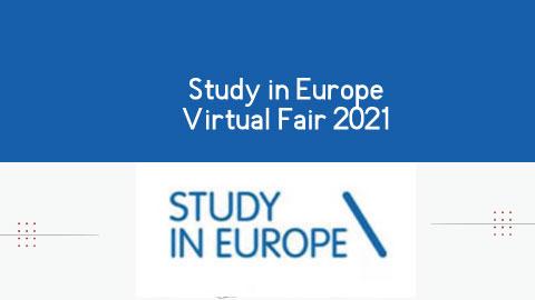 Study in Europe Virtual Fair 2021