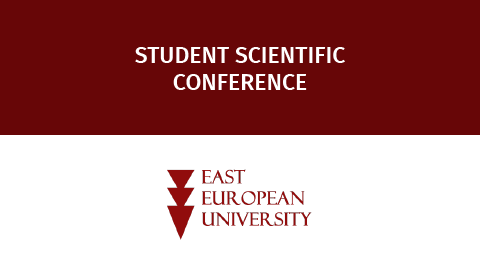 """University Students' Scientific Conference:  ,,Development Opportunities of the Country under Post-pandemic Conditions"""""""