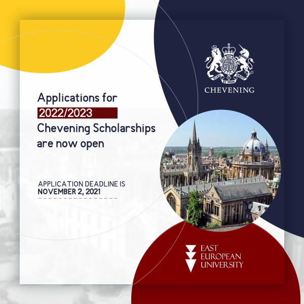 Applications for 2022/2023 Chevening Scholarships are now open!