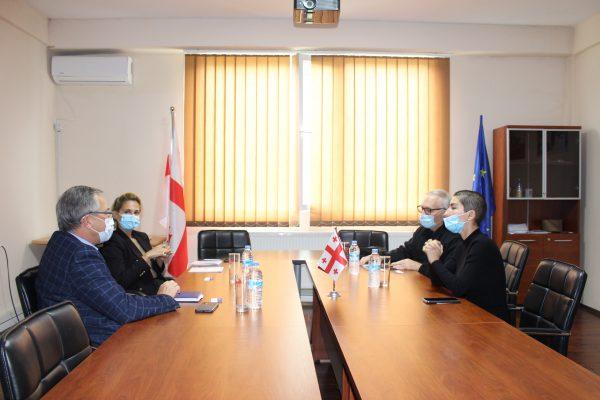 The Vice-President of California Baptist University visited East European University